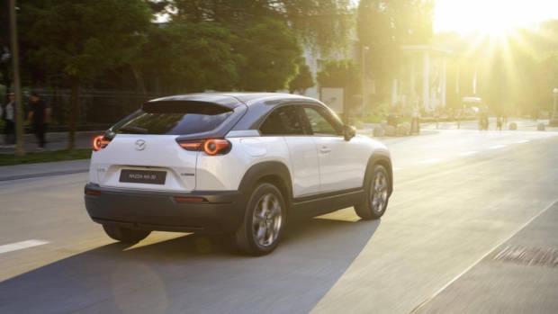 Mazda MX30 review reveal rear