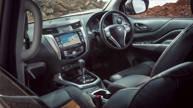 Nissan Navara Warrior interior