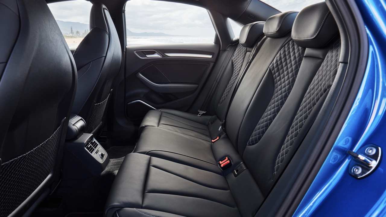 2020 Audi S3 review back seat