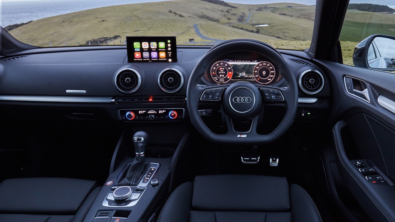 2020 Audi S3 review interior