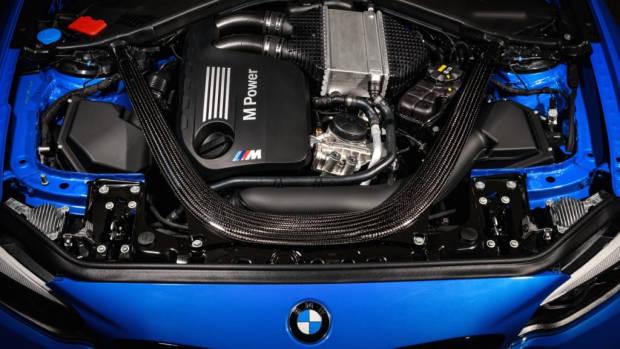 2020 BMW M2 CS Engine