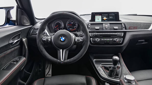 2020 BMW M2 CS interior