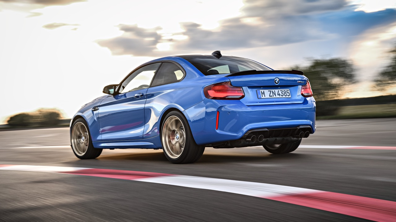 2020 BMW M2 CS rear 3/4