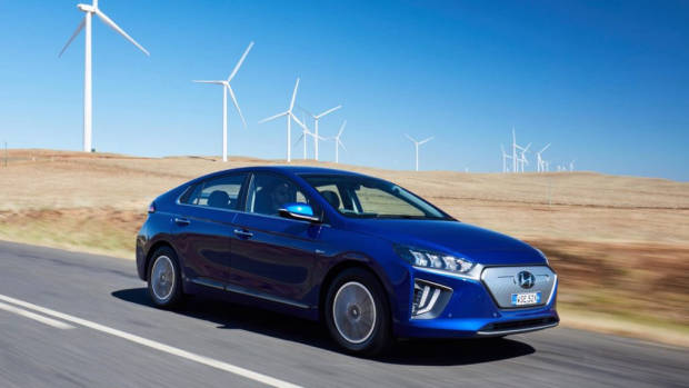 2020 Hyundai Ioniq Electric review driving