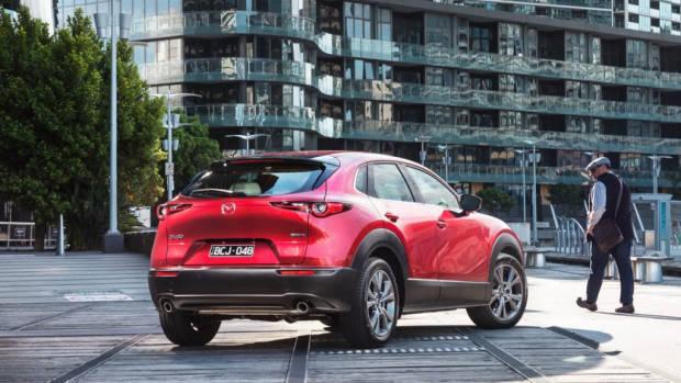 2020 Mazda CX-3 Rear 3/4