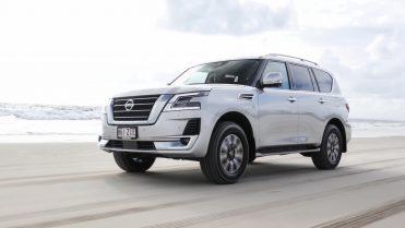 2020 Nissan Patrol exterior