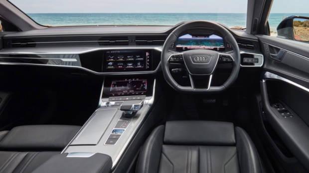 Audi A6 45 TFSI interior