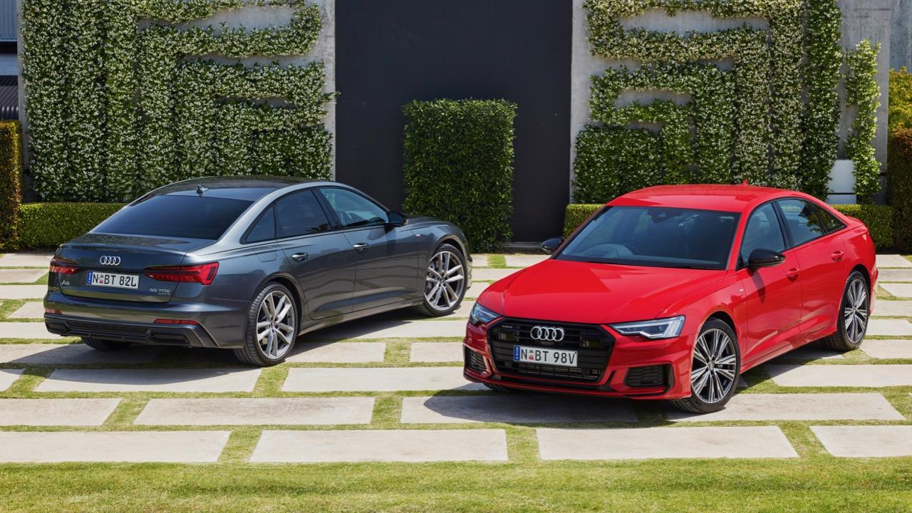 Audi A6 45 TFSI range