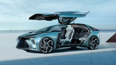 Lexus LF-30 concept doors up