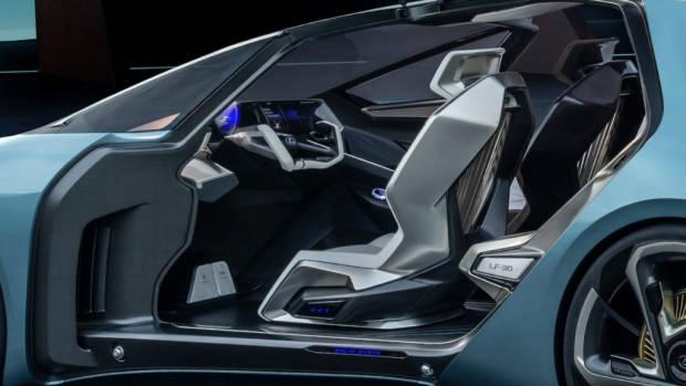 Lexus LF-30 concept interior