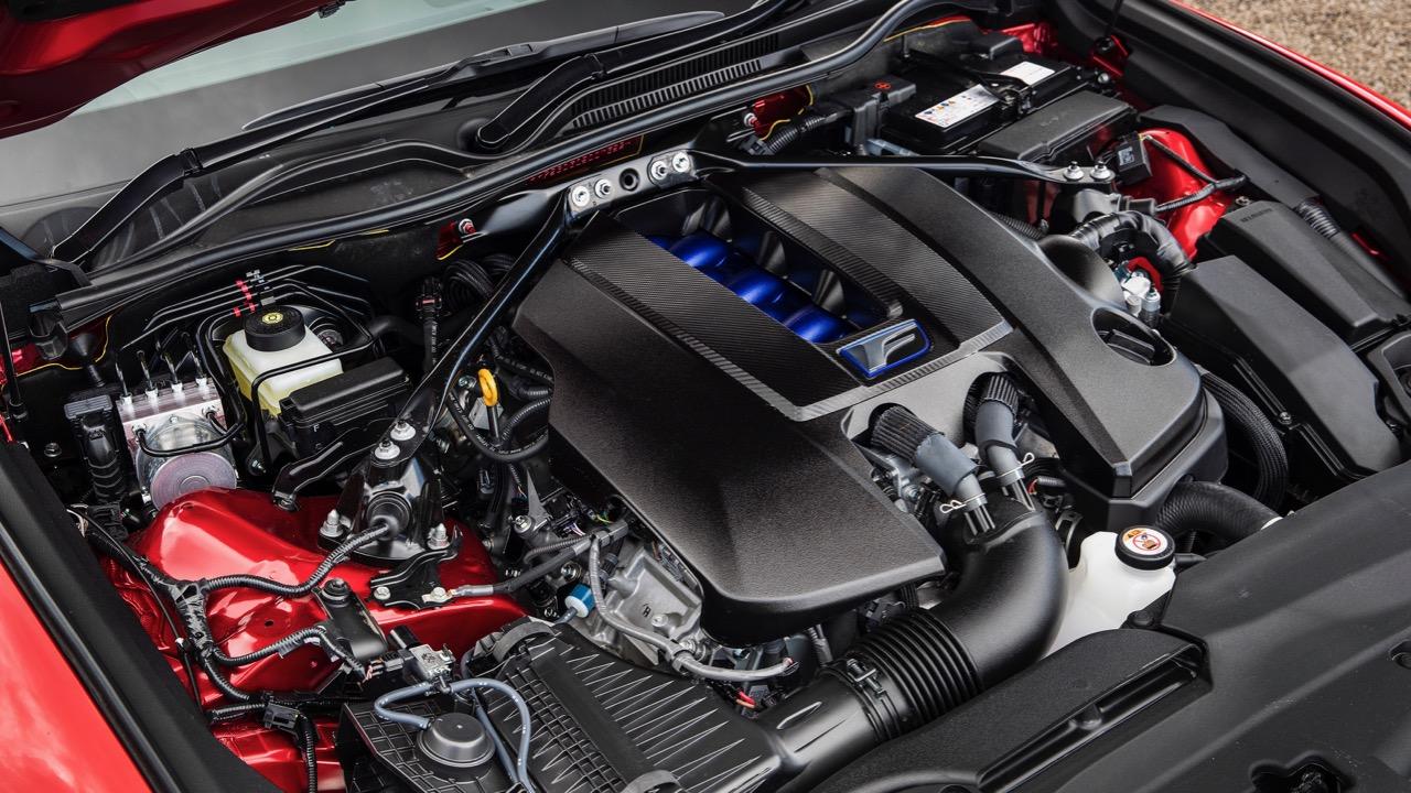 Lexus RC F review 2020 V8 engine