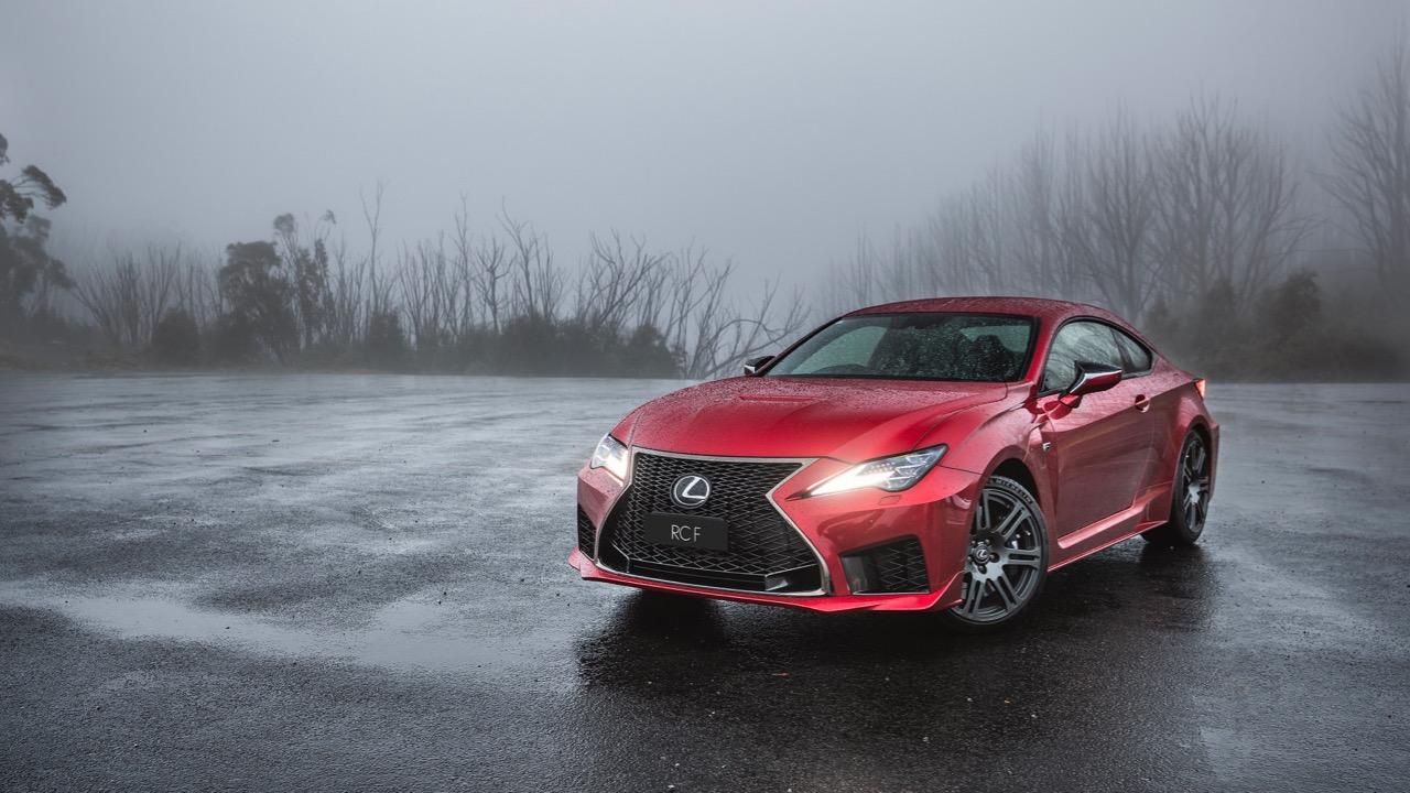 Lexus RC F review 2020 design