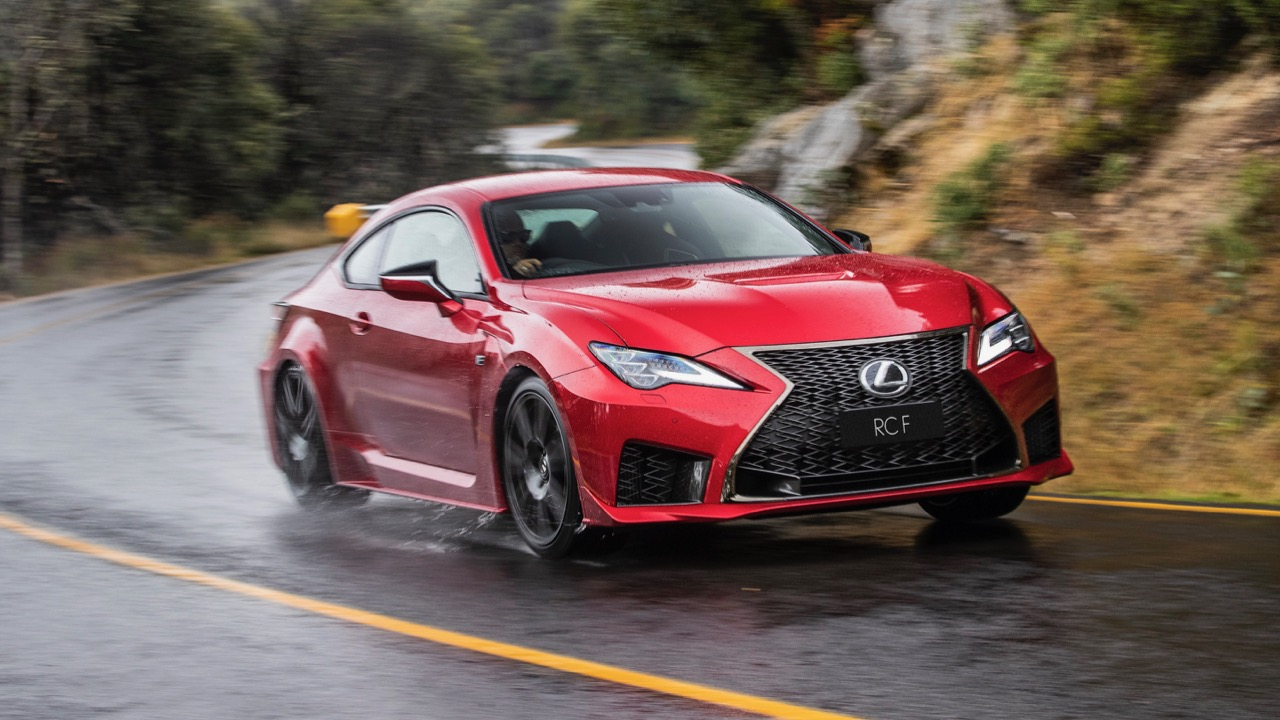 Lexus RC F review 2020 handling