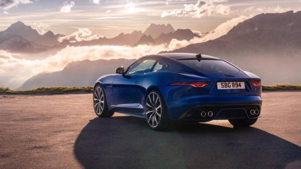 2020 Jaguar F-Type Rear3/4