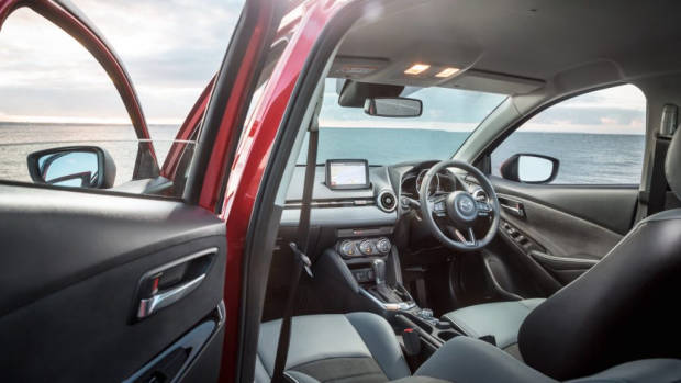2020 Mazda 2 Facelift - interior