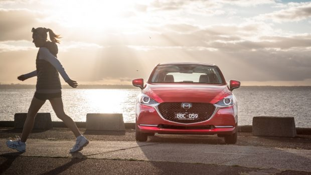 2020 Mazda 2 Facelift Lead