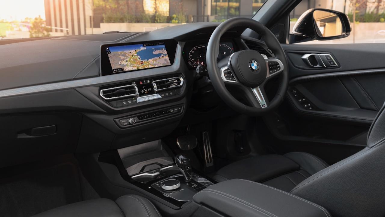 BMW m135i 2020 review interior