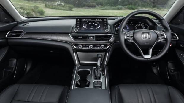 Honda Accord 2020 review hybrid interior