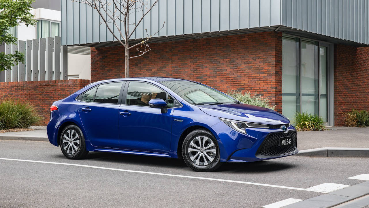 Toyota Corolla sedan review 2020 design