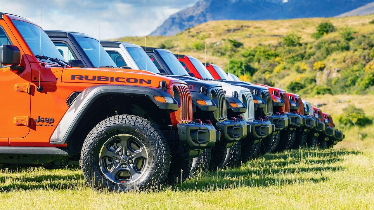 2020 Jeep Gladiator colours