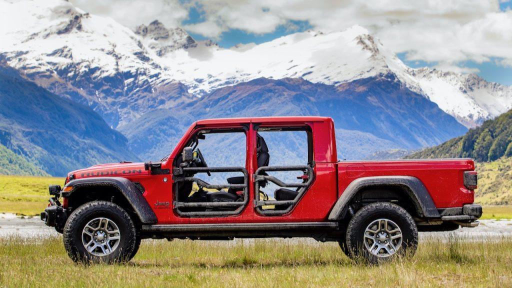 2020 Jeep Gladiator doors off