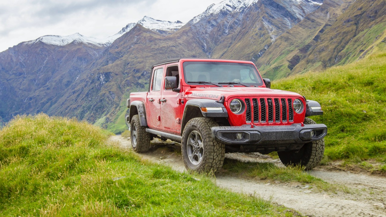 2020 Jeep Gladiator red