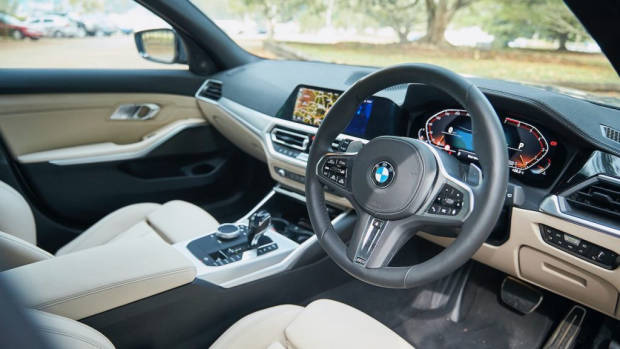BMW 330i Touring review 2020 interior