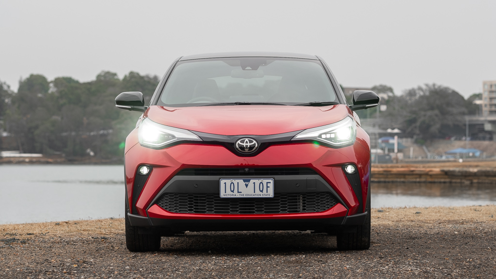 Toyota C-HR Koba front end