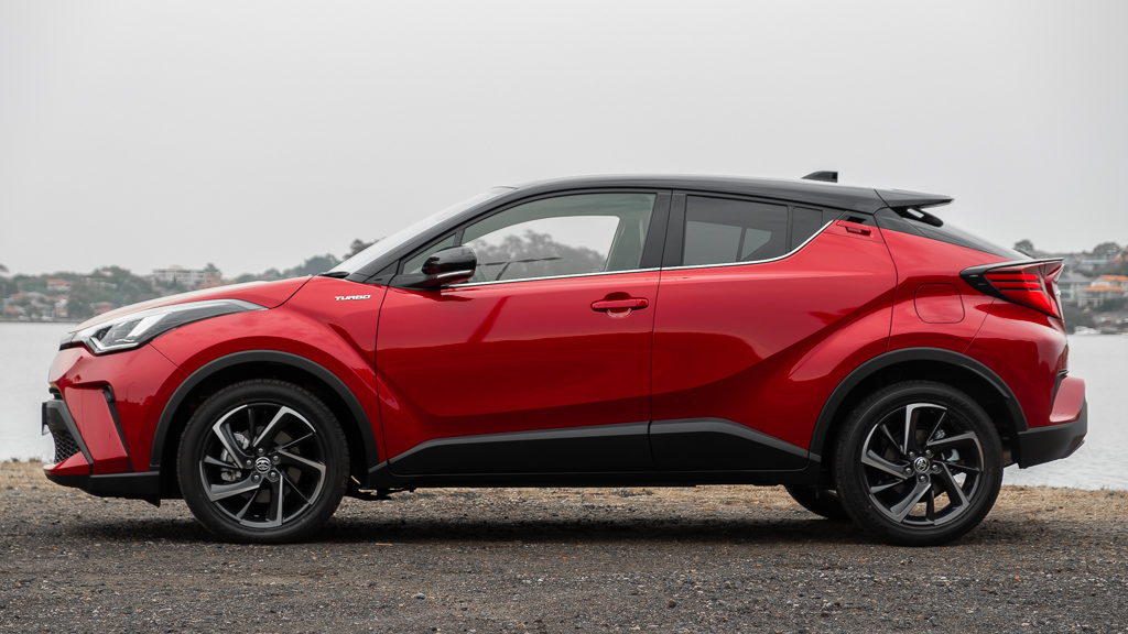 Toyota C-HR Koba side profile