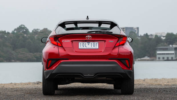 Toyota C-HR Koba rear end