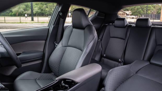 Toyota C-HR Koba interior black leather