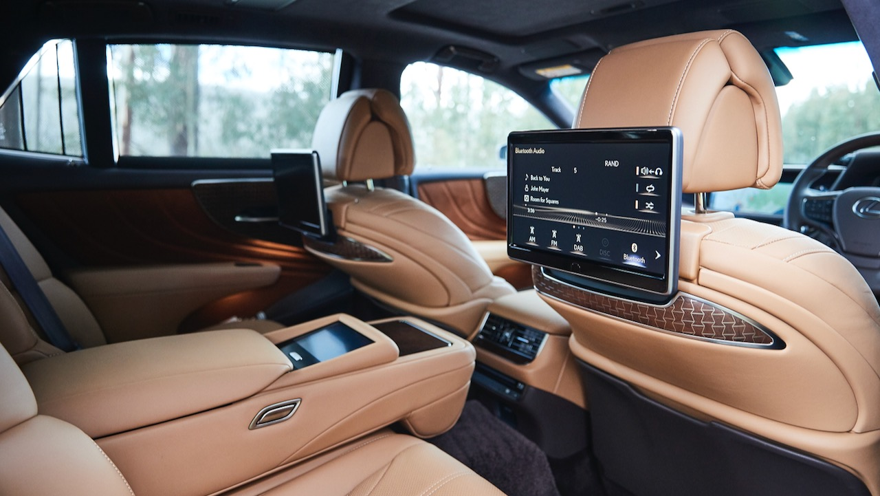Lexus LS 500 Inspiration Series review comfort