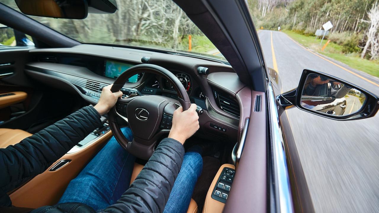 Lexus LS 500 Inspiration Series review driving
