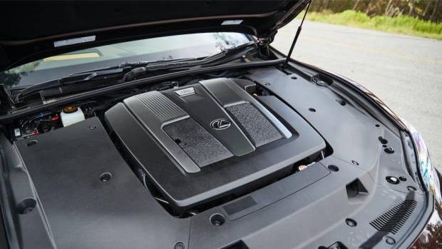 Lexus LS 500 Inspiration Series review engine