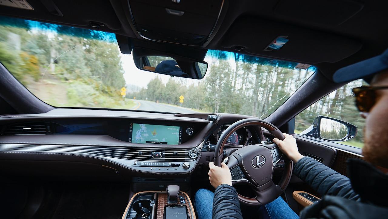 Lexus LS 500 Inspiration Series review handling