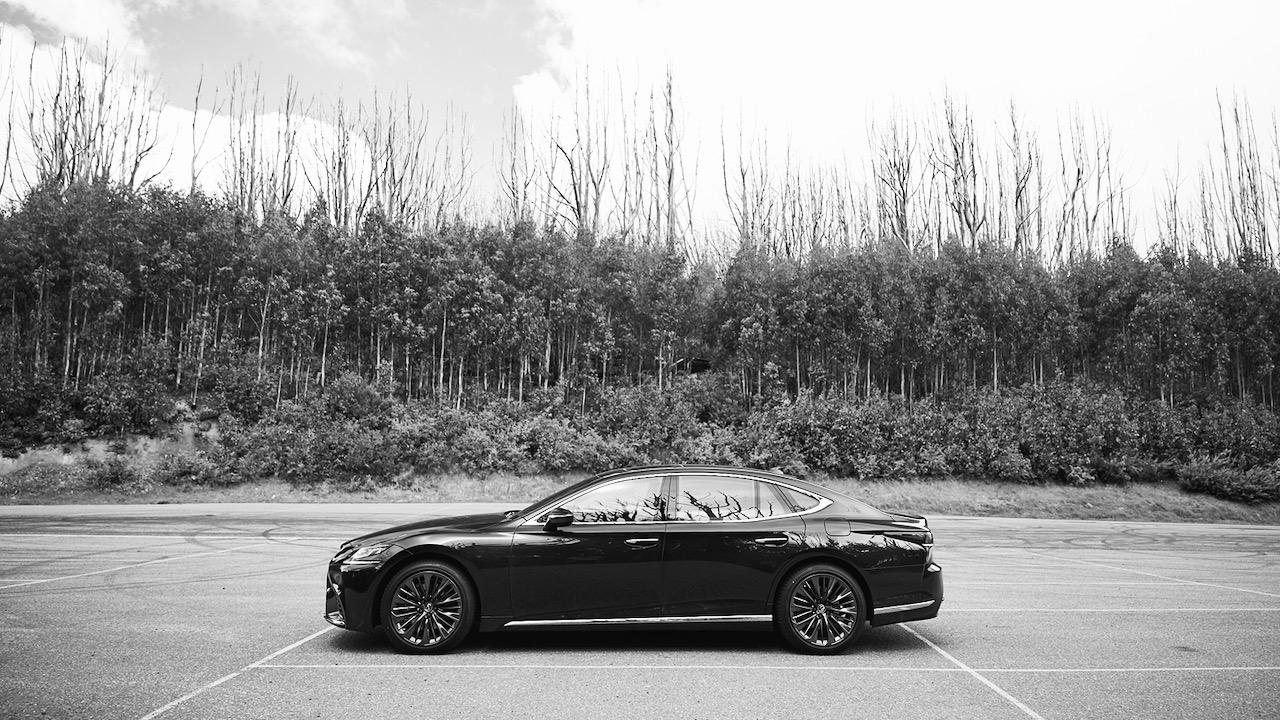 Lexus LS 500 Inspiration Series review luxury