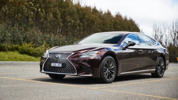 Lexus LS 500 Inspiration Series review luxury