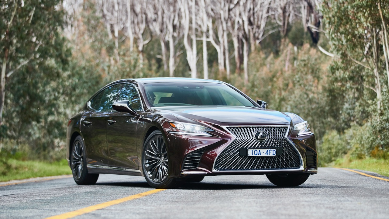Lexus LS 500 Inspiration Series review opulence