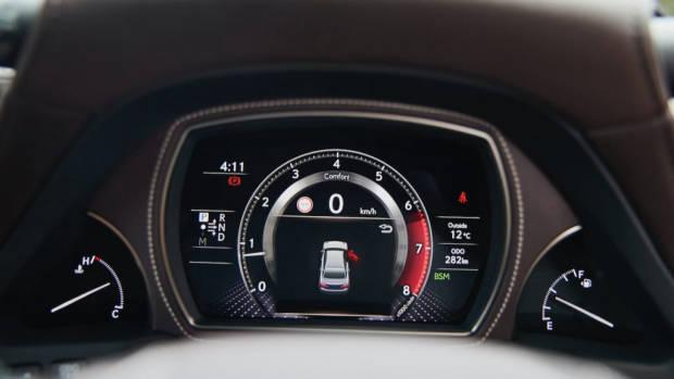 Lexus LS 500 Inspiration Series review technology