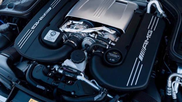Mercedes-AMG C63 S engine 2020