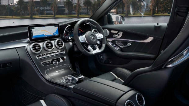 Mercedes-AMG C63 S interior 2020