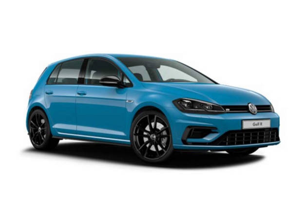 Volkswagen Golf R Final Edition Victory Blue