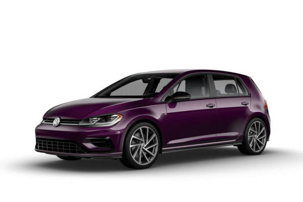 Volkswagen Golf R Final Edition Violet Touch