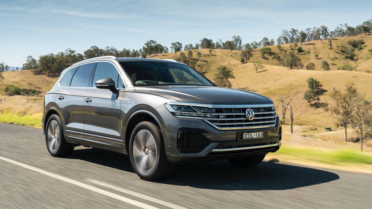Volkswagen Touareg R-Line review 2020 front