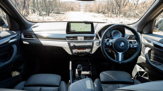 BMW X1 2020 review interior