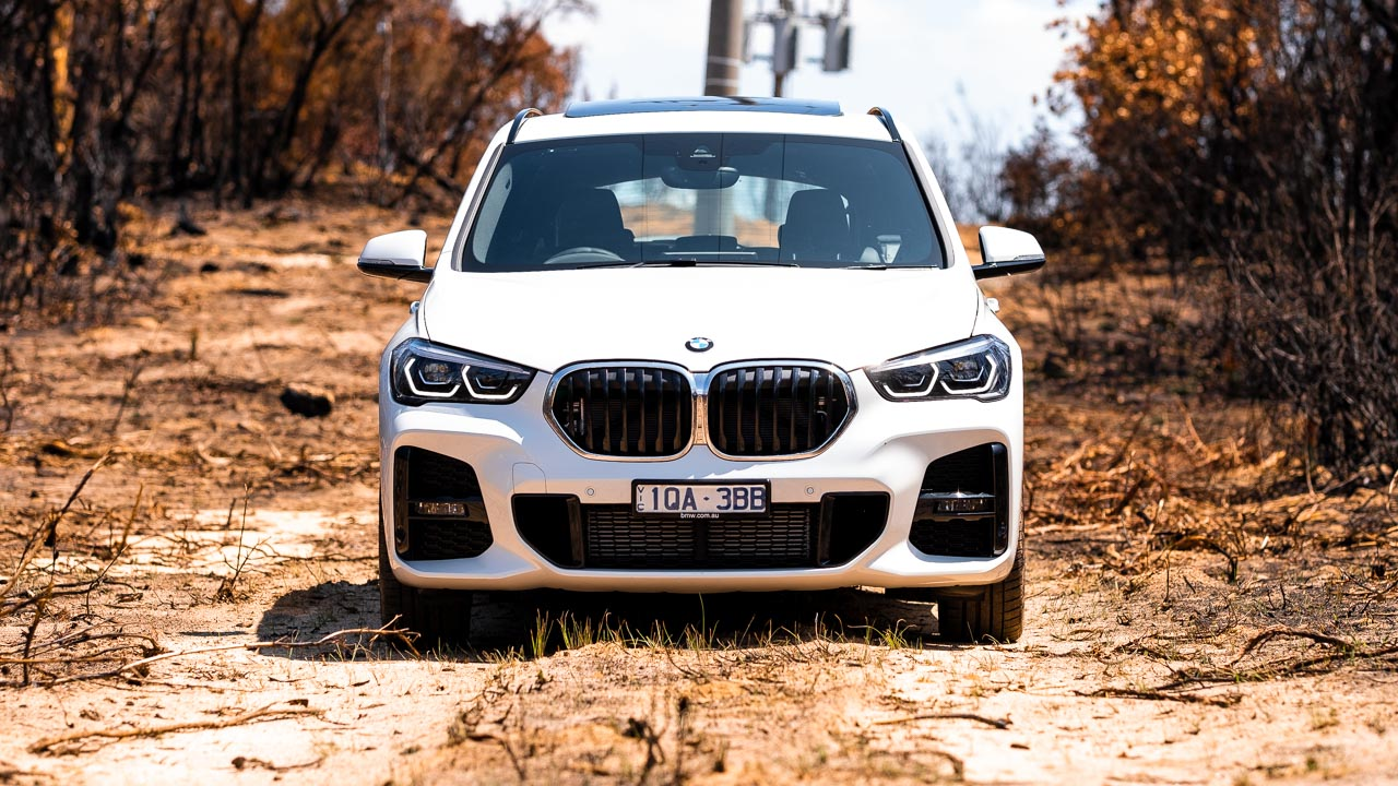 BMW X1 2020 review grille