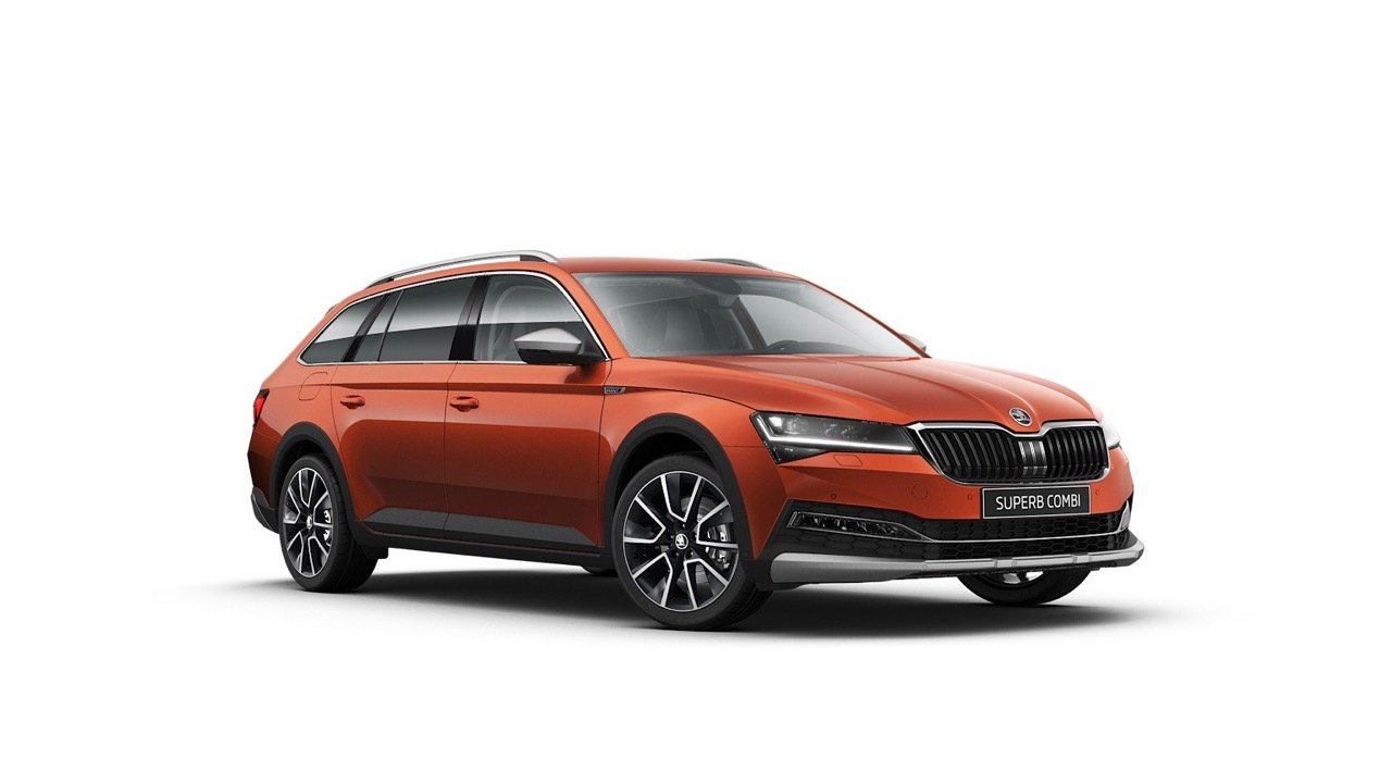 2020 Skoda Superb Scout – 1