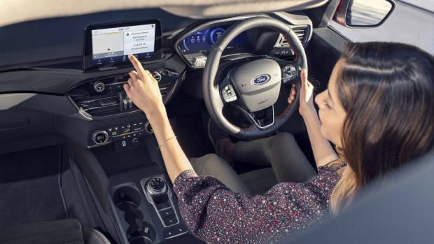Ford Escape plug in hybrid 2020 interior