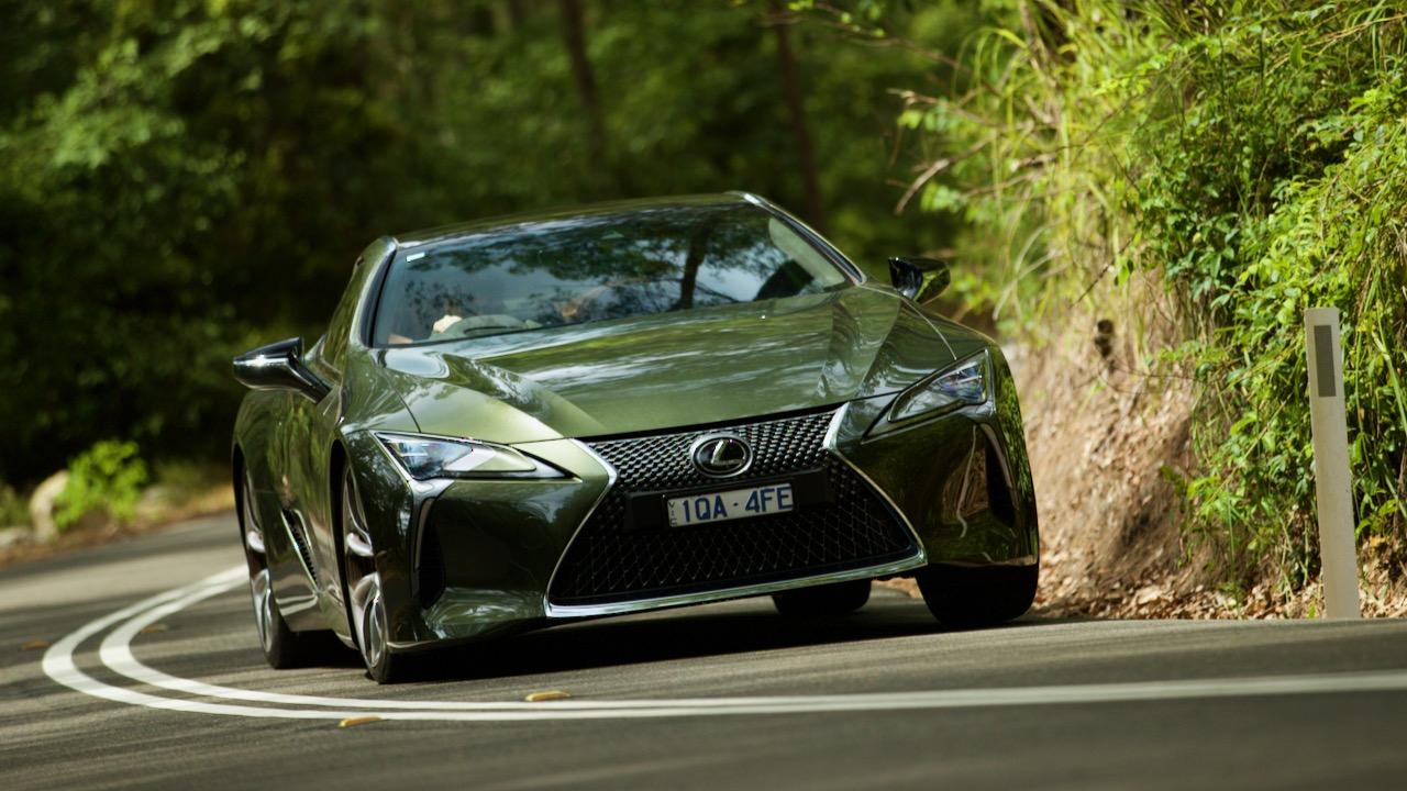 Lexus LC 500 Inspiration Series 2020 handling