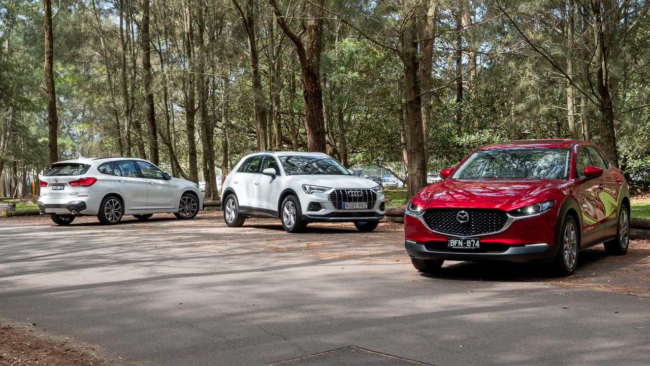 Mazda Cx 30 Vs Audi Q3 Vs Bmw X1 Suv Comparison Chasing Cars